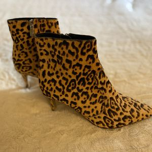 Leopard Ankle Boots for Sale in Beaverton, OR