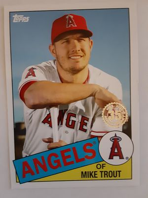 Topps series 1 Mike Trout for Sale in Torrance, CA