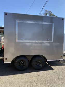 MOBILE VENDING TRAILER ENCLOSED CARGO for Sale in Los Angeles,  CA