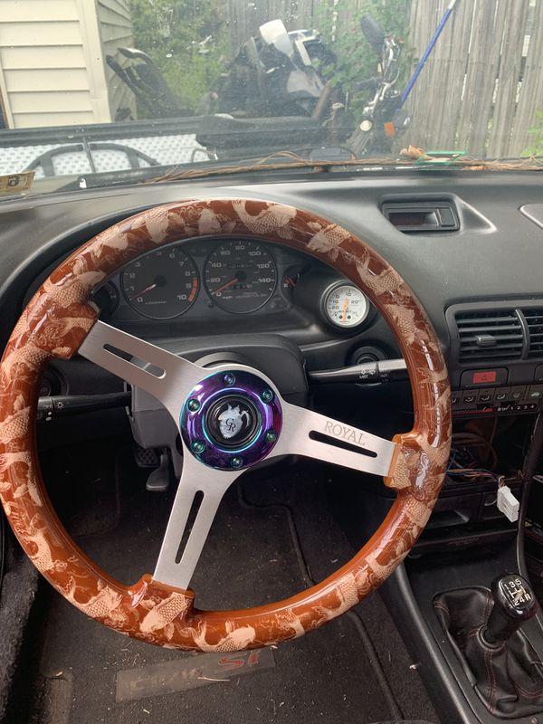 Grip royal custom steering wheel