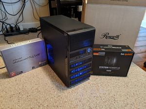 1080p Gaming PC, Intel i7 2600, AMD RX 470, ASrock Z68 ITX MOBO, etc. for Sale in Verona, WI