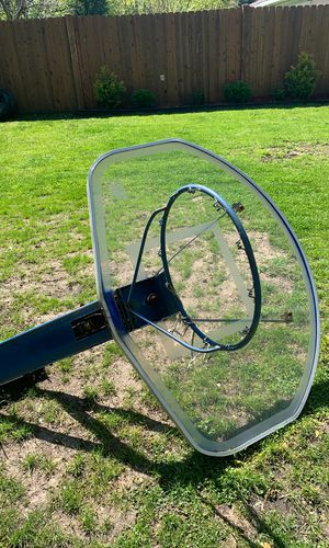 Blue basketball hoop for Sale in Des Plaines, IL