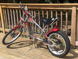 Stingray Genuine Schwinn Chopper Bike for Sale in Powder Springs, GA