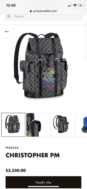 LOUIS VUITTON BACKPACK (AUTHENTIC) for Sale in Chandler, AZ