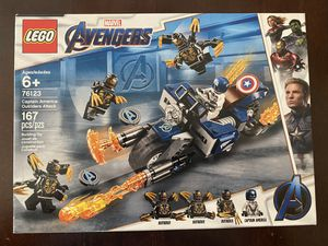 LEGO 'Avengers' Captain America: Outrider Attack (76123) for Sale in Aurora, CO
