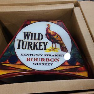 Wild Turkey Pool Table Lamp for Sale in Manassas, VA
