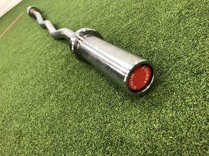 High Grade 4' Olympic EZ Curl Bar (10kg/22lb) Brand New! COMMERCIAL GRADE EZ-CURL BAR • Weight Capacity 350 lb • Grip Dia 25mm for Sale in Santa Clarita, CA