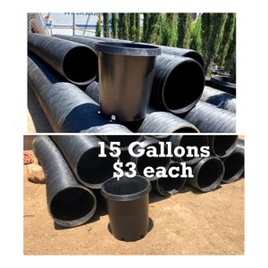 New 15 Gal Nursery Containers for Sale in Perris, CA