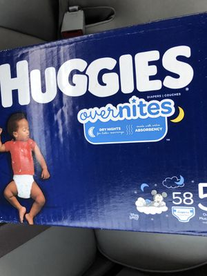 Huggies Overnites size 5 for Sale in Cape Coral, FL