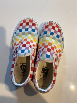 Rainbow vans size 1 🌈 for Sale in Issaquah, WA