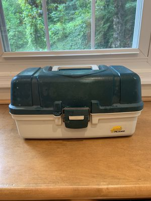 Plano Fishing Tackle Box for Sale in Fort Belvoir, VA