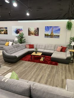 Sectional sofa with sleeper and storage for Sale in Elk Grove Village,  IL