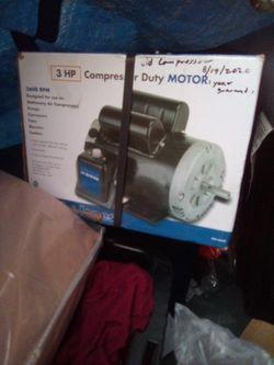 Compressor Duty Motor 230v for Sale in Bakersfield,  CA