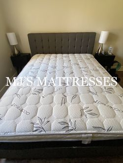 BAMBOO PILLOW TOP MATTRESS 💥 BRAND NEW IN PLASTIC ☘️ WE DELIVER SAME DAY 💯🚛 for Sale in Los Angeles,  CA