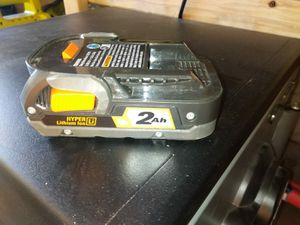 BATTERY RIDGID for Sale in Phoenix, AZ