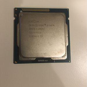 Intel i5 3470 CPU Processor for Sale in Mesa, AZ