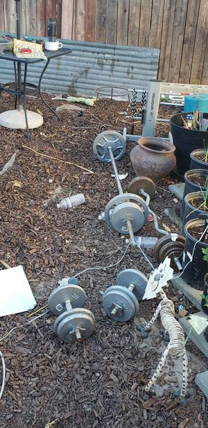 Weights with stand for weights plus more for Sale in Palmdale, CA