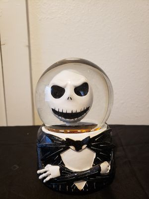 Disney Nightmare Before Christmas musical snow globe for Sale in Dallas, TX