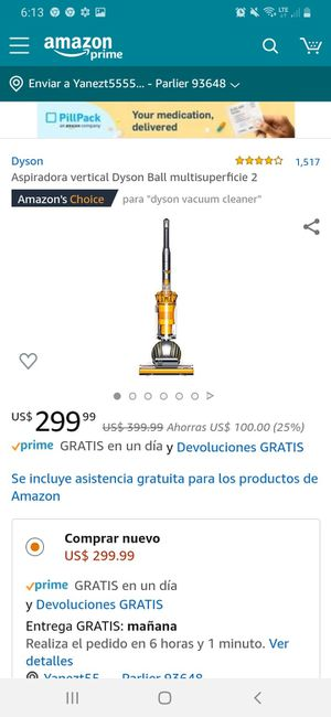 Vacumm dyson dc 14 for Sale in Parlier, CA
