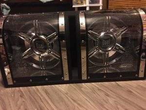 12 inch subs with kicker AMP for Sale in Alexandria, VA