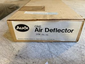 VW Part ZAW 174 115 - Audi 5000, S, CS - From 04/83 - Sunroof Air Deflector for Sale in Fontana, CA