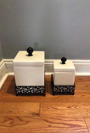 "Kitchen decor / kitchen storage/ ""cookie jars"" for Sale in Philadelphia, PA"