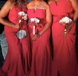 Apple Red Winter Formal Prom Bridesmaid Dress Size 14 for Sale in Long Beach, CA