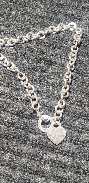 Tiffany silver choker chain for Sale in O'Fallon, MO