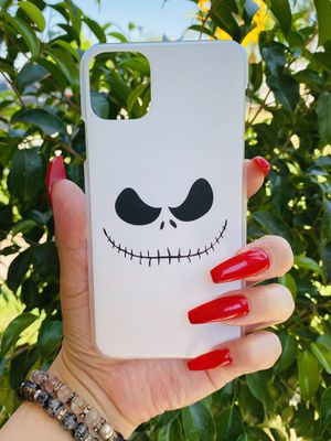 Brand new cool iphone 11 PRO MAX 6.5 case cover phone case slim fit hard sleeve case light weight jack skellington nightmare before Christmas for Sale in San Bernardino, CA