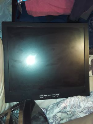 """Clinton Electronics computer monitor 17""""×15"""" in good working condition for Sale in Garland, TX"""
