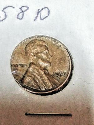 1958 D wheat penny for Sale in Weston, MO