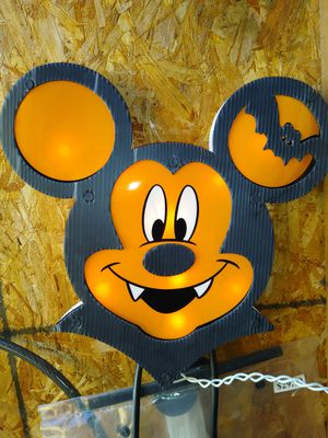 Lighted Halloween mickey for Sale in Oak Lawn, IL