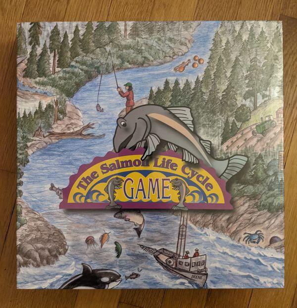 The Salmon Life Cycle Board Game
