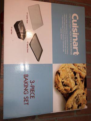 Cuisinart Non-stick 3-piece Baking Set for Sale in Laurel, MD