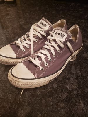 Size 13 mens dark grey converse allstars for Sale in Phoenix, AZ