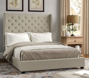 Upholstered Standard Bed for Sale in West Haven, CT