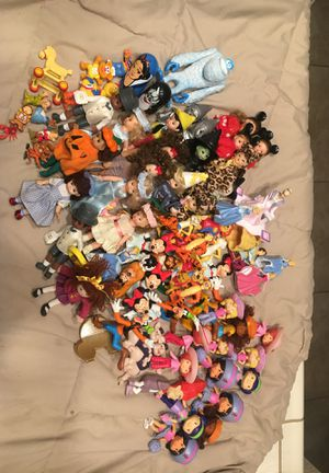 Mixed collectible figure toys for Sale in Clovis, CA
