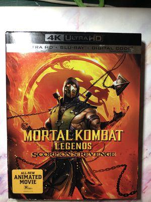 Mortal Kombat Legends 4K HD+Blu-ray for Sale in Washington, IA
