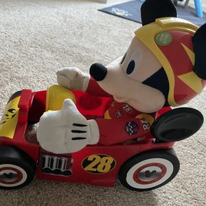 """Mickey and the Roadster Racers Racing 15"""" Plush Mickey Plush for Sale in Stoneham, MA"""