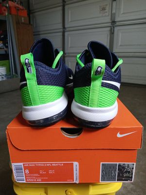 Nike Air Max Seattle Seahawks (SIZE 8) for Sale in Downey, CA