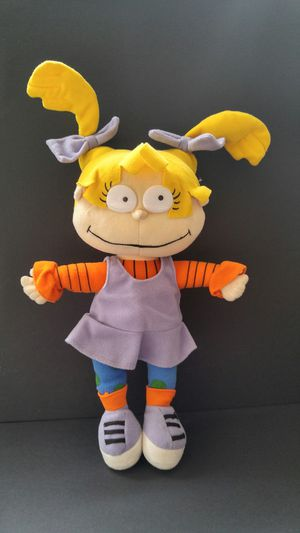 Rugrats stuffed Angelica doll, plush toy for Sale in Chicago, IL
