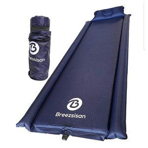 Camping Sleeping Pad Self Inflating-Inflatable Foam Mat Compact with Pillow for Outdoor Backpacking Hiking Cot A Portable Air Mattress for Sale in Escondido, CA