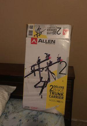 Allen sports 2 bike trunk carrier for Sale in East Bank, WV