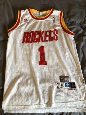 Adult M (48) Tracy McGrady Houston Rockets Basketball Jersey for Sale in Seattle, WA