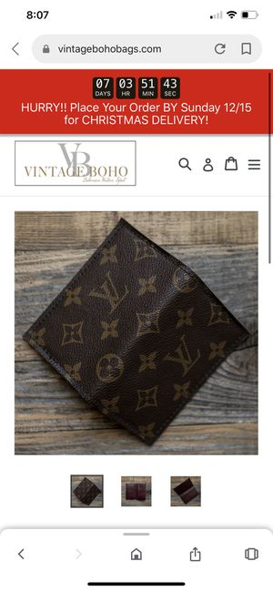 Repurposed Louis Vuitton Wallet for Sale in Bothell, WA