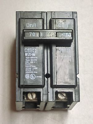 Eaton Circuit Breaker 70 Amp for Sale in Lawrenceville, GA