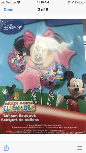 Minnie Mouse balloon bouquet for Sale in Waterbury, CT