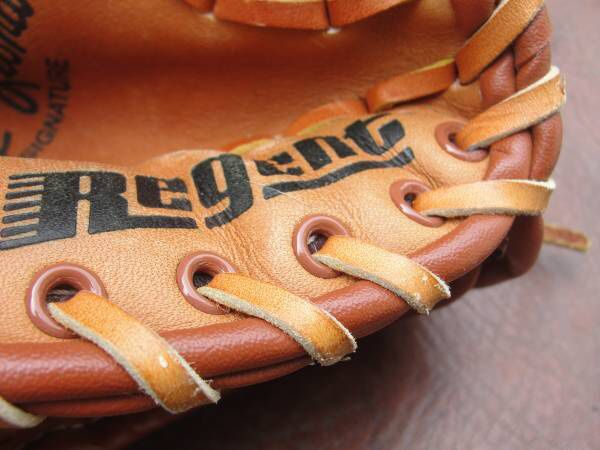 Regent .. Jeffrey Leonard .. 03862 .. Baseball Glove .. Hand Crafted .. Top Grain Cowhide. This it to be worn on your left hand. Size tag gone, adult