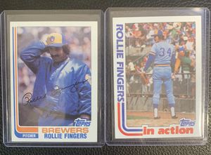 1982 Topps Rollie Fingers for Sale in Hayward, CA
