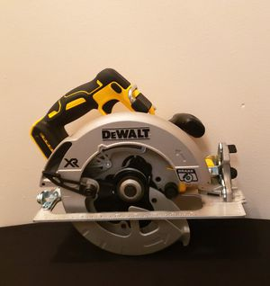 New Circular Saw Dewalt XR 7/4 ONLY TOOL NO CHARGER OR BATTERIES FIRM PRICE for Sale in Woodbridge, VA